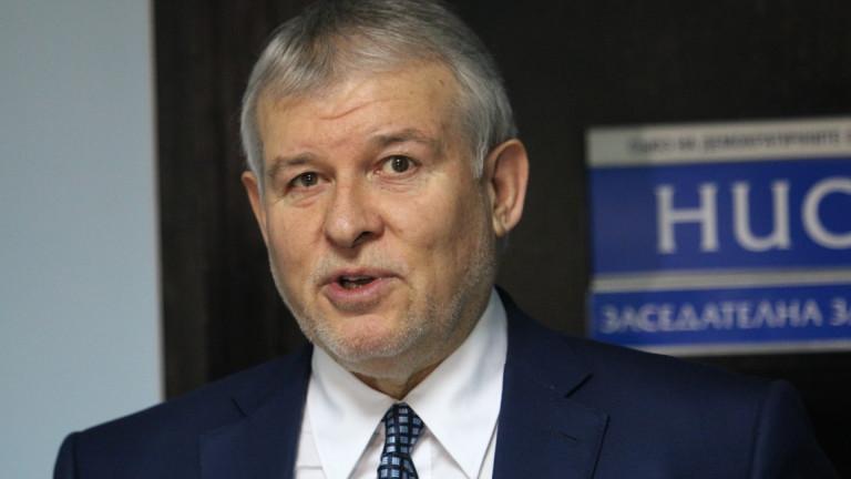 СДС не била под шлифера на Борисов