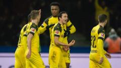 Марко Ройс донесе драматична победа на Борусия (Дортмунд) в Берлин