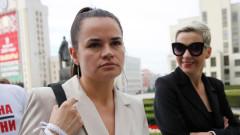 Тихановская не планира да участва в избори, но съпругът й може да се кандидатира