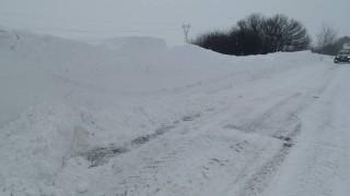 Ограничения по пътищата Видин–Монтана и  Смолян–Стойките заради снега