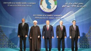 Дори при помощ корабите в Каспийско море искат разрешение