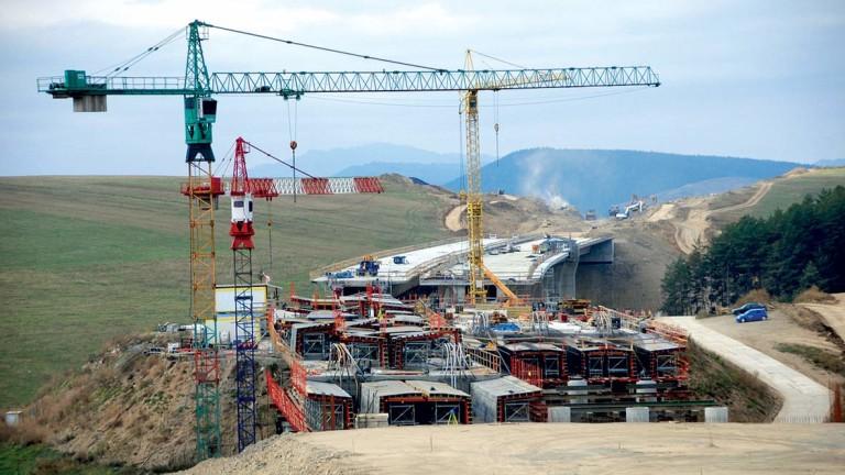 Сложни инфраструктурни обекти в България, като участъците през Кресненското дефиле,