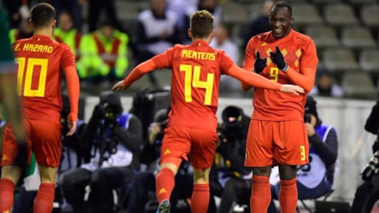 Белгия и Мексико извъртяха зрелищно реми