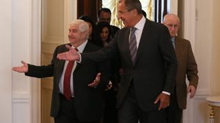 """Намесата на Русия в Сирия променя играта срещу """"Ислямска държава"""", смята Дамаск"""