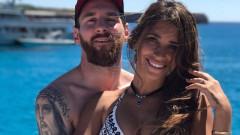 Лео Меси заведе съпругата си на меден месец (СНИМКИ)