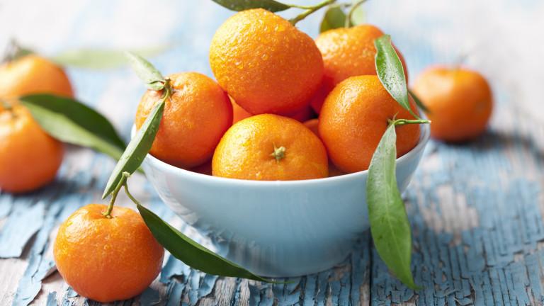 Боядисани мандарини носят риск от алергии при децата