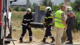 Цистерна се обърна и се запали при катастрофа по пътя Провадия - Айтос