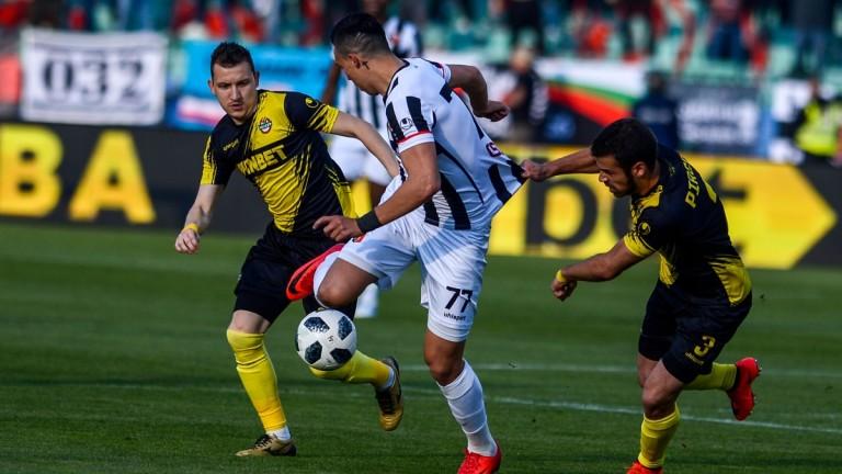 За първи път през сезона отборът на Ботев (Пловдив) е