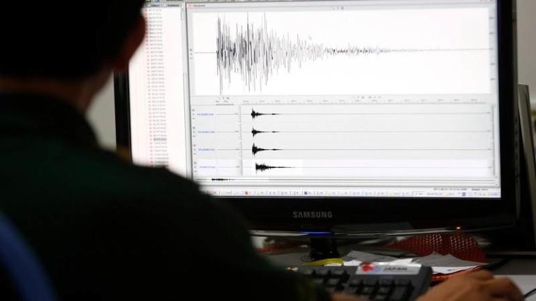 Земетресение с магнитут 3,9 край Стара Загора