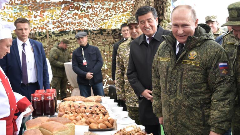 Русия е домакин на мащабни международни военни учения в Централна