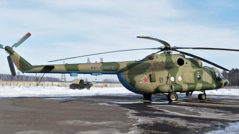 Боен хеликоптер Ми-8 се е разбил на територията на Република
