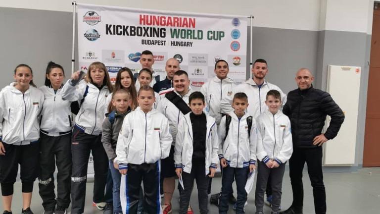 Наши кикбоксьори на Световната купа в Унгария