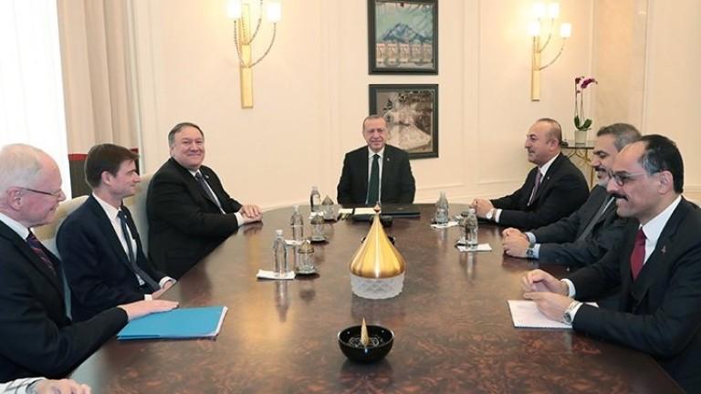 Държавният секретар на САЩ Майк Помпео се срещна с турския