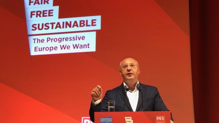 Станишев: Отговорността ни е да спасим Европа от популизма и арогантността на ЕНП