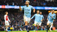 Ман Сити - Арсенал 3:1, хеттрик на Агуеро