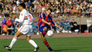 Христо Стоичков измести Лионел Меси в класацията за най-добър футболист на Барселона!