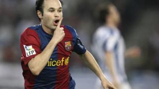 Иниеста: Това е признание за Барселона