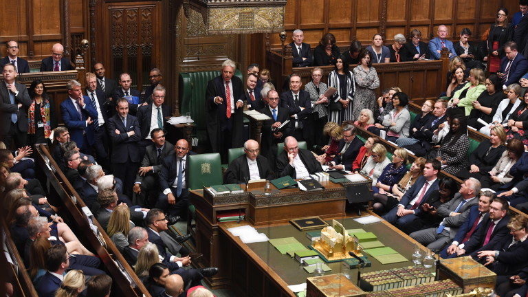 Снимка: Борис Джонсън понесе още едно поражение в Камарата на общините