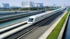 В Китай направиха успешен тест на високоскоростна влакова система, достигаща 600 км/ч