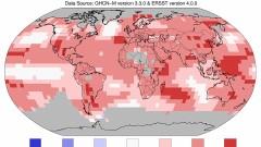 Последните три години са най-горещите на Земята