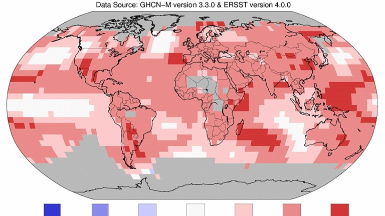 Последните три години са най-горещите на Земята, съобщават световни агенции,