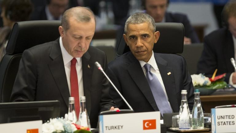 Обама не вижда влошаване на отношенията с Турция