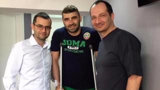 От Лудогорец: Владо Стоянов не е претърпял нова операция!