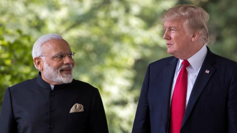 Индия отрича премиерът Нарендра Моди де е молил американския президент