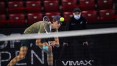 Яник Синер е първият полуфиналист на Sofia Open 2020