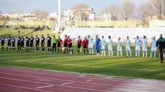 Дунав - Славия 0:1 (Развой на срещата по минути)
