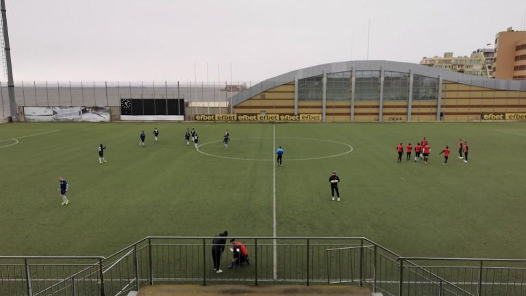 Локомотив (Пловдив) победи Созопол с 2:1 в контролна среща, която
