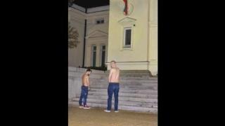 Рапъри се облекчават пред парламента и съдебната палата (ВИДЕО)