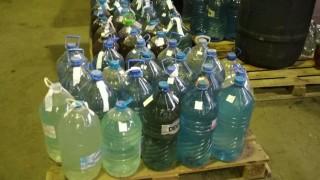 Митничари откриха 1 тон нелегален алкохол в незаконен казан за ракия