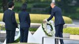 Обама почете Хирошима - с венци, но без извинения