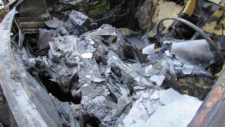 В Исперих изгоряха два автомобила, собственост на горски стражари. Инцидентът