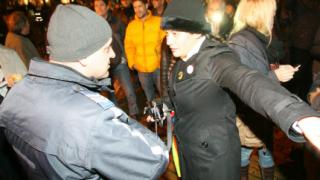 """100-тина """"реформатори"""" подкрепиха вечерния протест"""