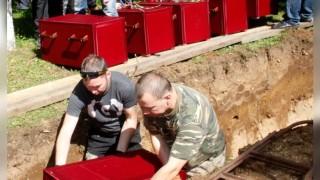 В Естония погребаха отново 202 съветски войници