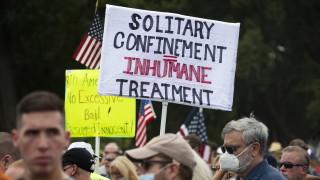Малоброен протест на защитници на щурма над Капитолия се проведе във Вашингтон