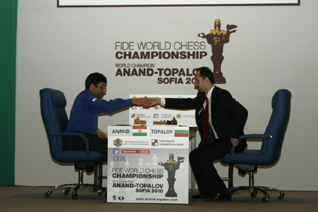 Топалов подари титлата на Ананд