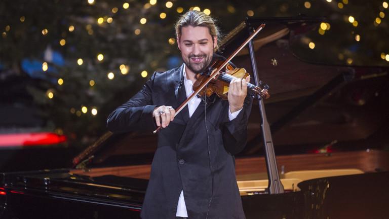 Дейвид Гарет с още един концерт в България