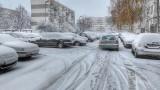 Падна първият сняг в София