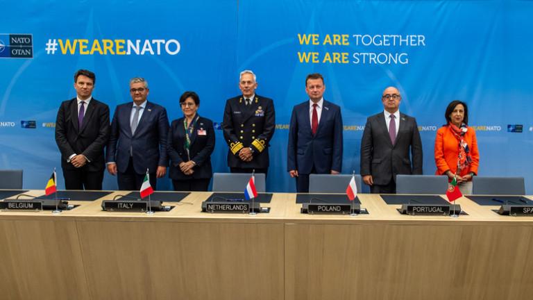 7 държави от НАТО подписаха да купуват общо боеприпаси за военноморските си сили