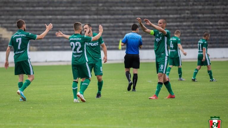 ОФК Янтра (Габрово) постигна победа с 5:1 в петата си