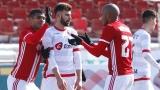 От ЦСКА-София се хвалят - над 20 000 зрители гледали мача с Шкендия