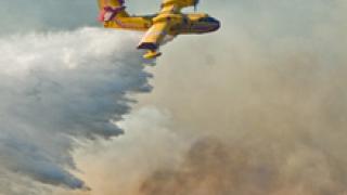 Испански самолети на помощ за пожара в Рила