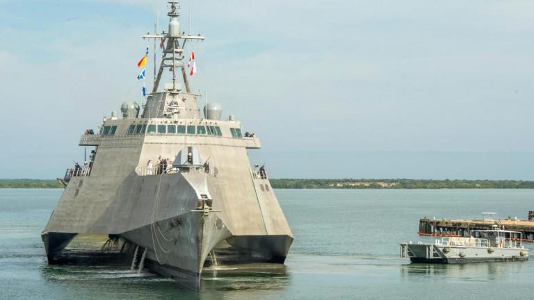 Американският военноморски флот има нов член - USS Omaha. Крайбрежният