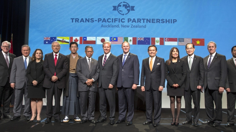 12 държави се подписаха под споразумението за Транстихоокеанско партньорство