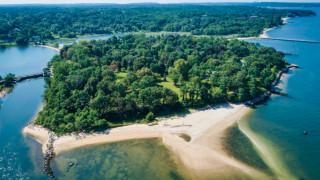 Продава се: Остров за 125 милиона долара на по-малко от час път от Ню Йорк...