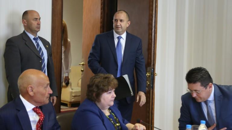 Президентът Румен Радев иска да знае как ще бъде оценена