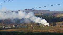 Две деца загинаха при пожар във фургон в село Устина